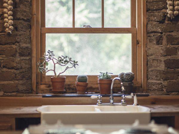 Lesena okna Kosec
