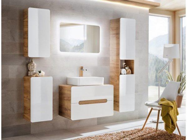 Moderno zasnovano kopalniško pohištvo po zmernih cenah